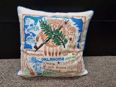 Oklahoma Pillow Primitives By Kathy