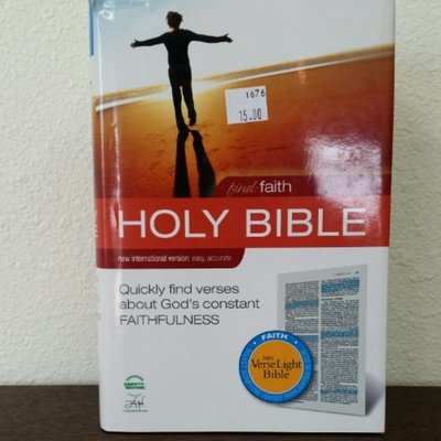 Find Faith Holy Bible - New Interantional Version