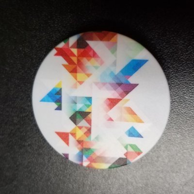 Pop-Up Mount - Geometric Rainbow