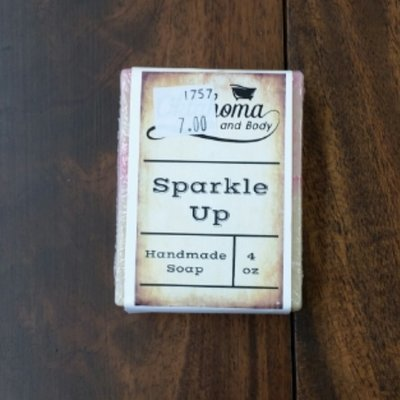 Goat's Milk Bar Soap - Sparkle Up