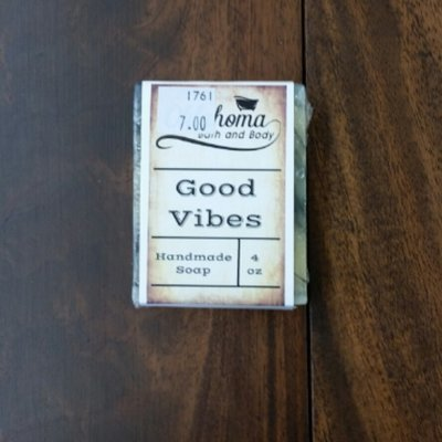 Goat's Milk Bar Soap - Good Vibes