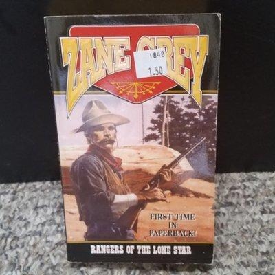 Rangers of the Lone Star by Zane Grey