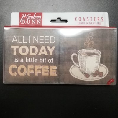 All I need today is a little bit of coffee and a whole lot of Jesus Coaster Set