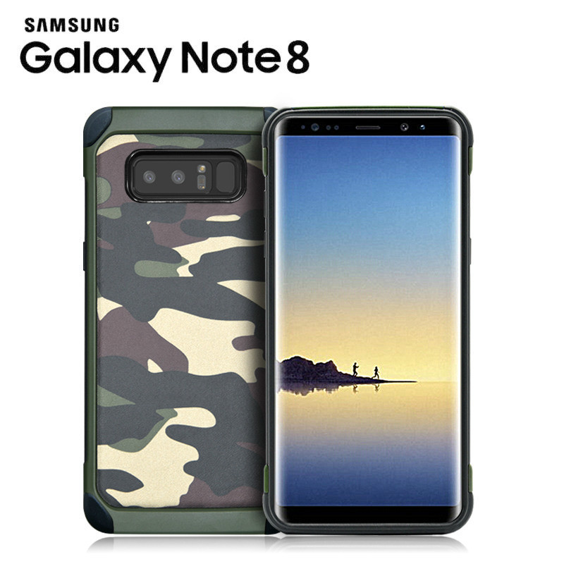 buy popular 4273c 94429 NX Camo Case Military Cover for Samsung Galaxy Note 8