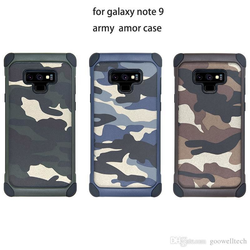 new product 195b3 aec57 NX Camo Case Military cover for Samsung Note 9