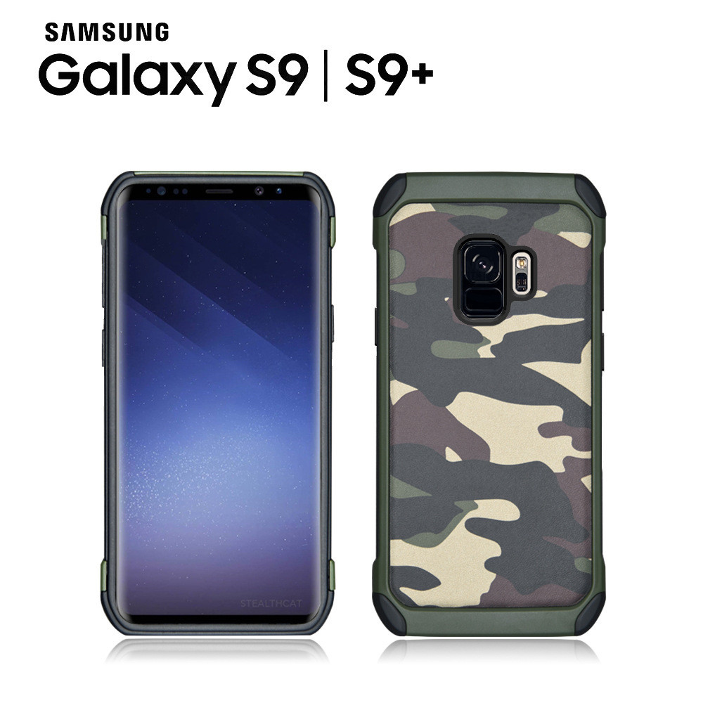 best loved 6f4f6 3f6c9 NX Camo Case Military Cover for Samsung Galaxy S9 and S9Plus