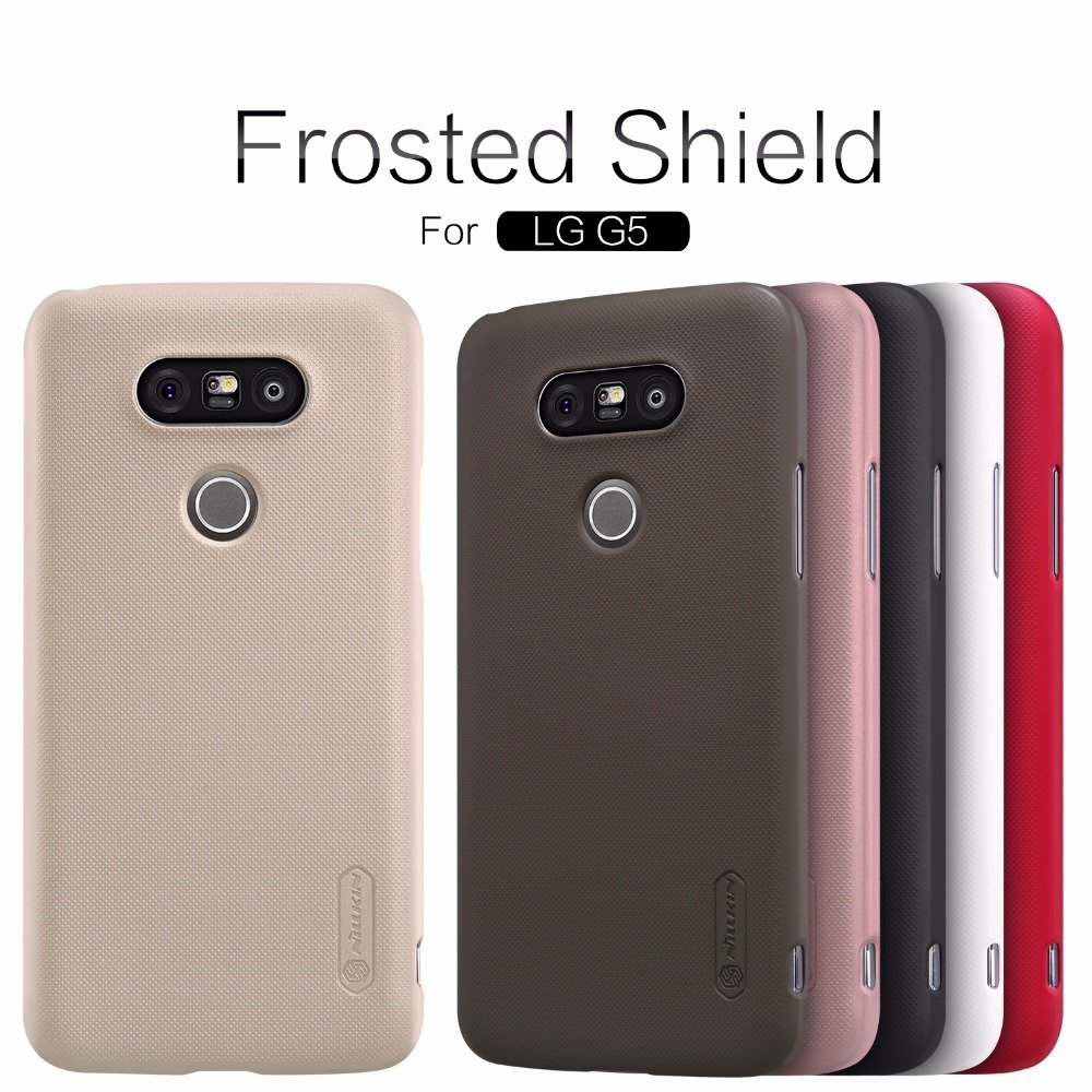 another chance 80729 abe7a LG G5 LG G6 V10 V20 V30 Nillkin SuperFrosted Mate Shield Case