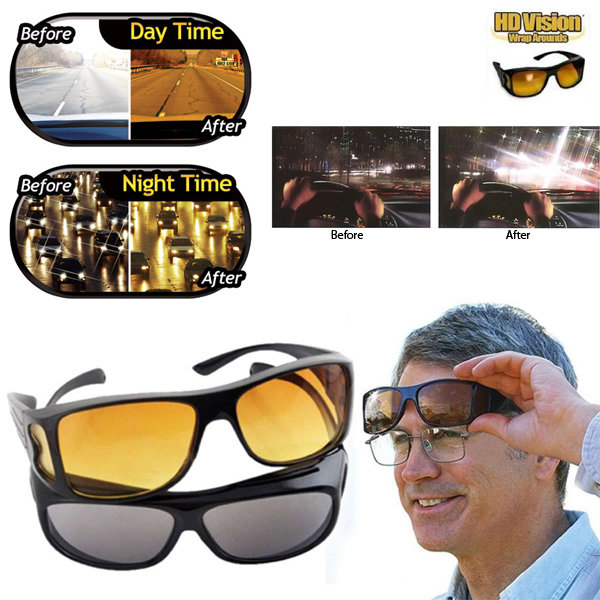 8523642c3d8 Men women optic night vision driving anti UV HD Vision glasses eyeglasses  uv400 protection night vision goggles with ...