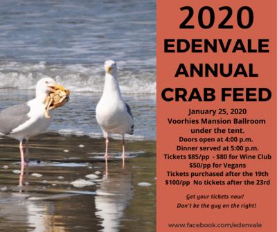 EdenVale Annual Crab Feed