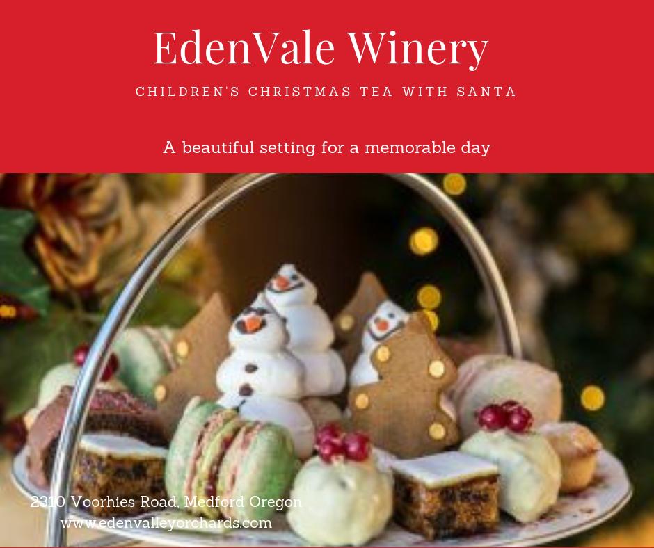 Children's Christmas Tea - Ticket for December 15th
