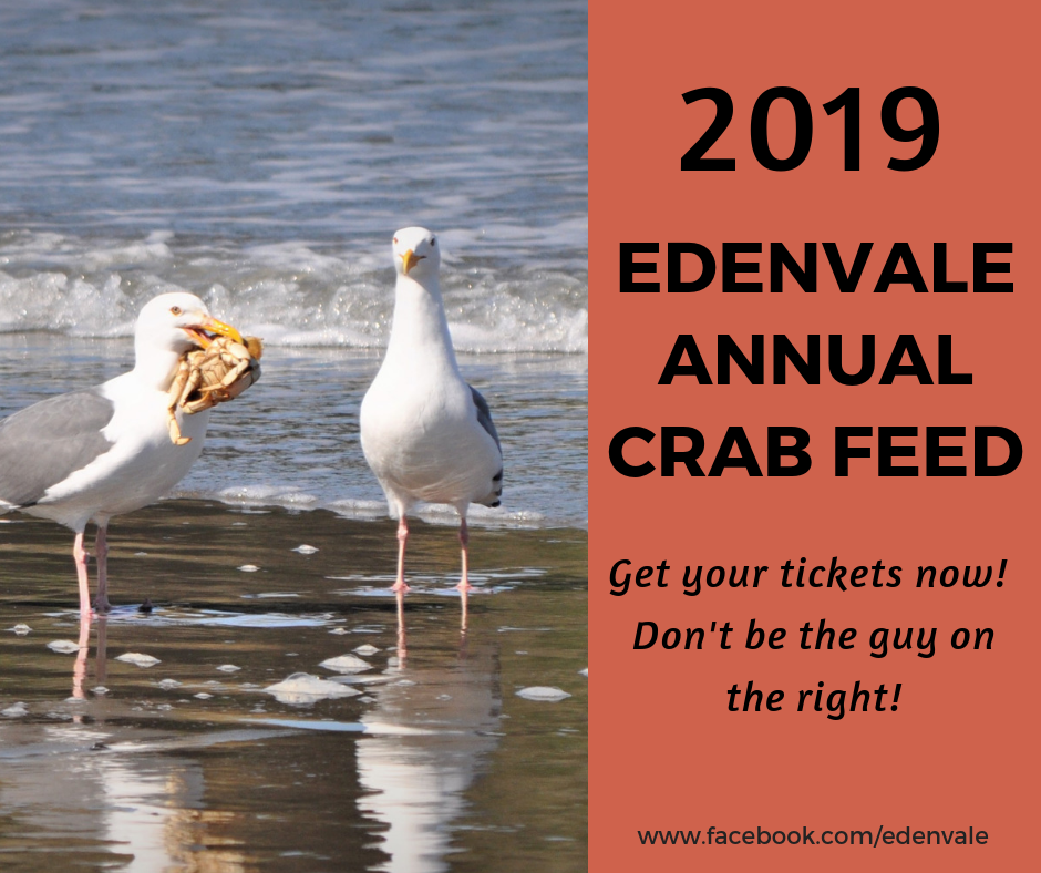 EdenVale Annual Crab Feed