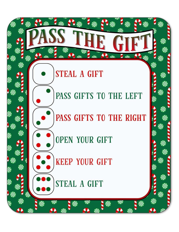 Pass the Gift Christmas Game