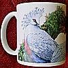 Victoria Crowned Pigeons  - Ceramic Mug