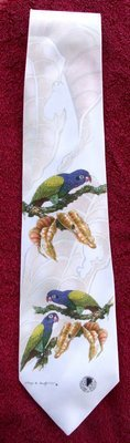 Blue-Headed Pionus - Neckties