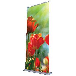 """Deluxe Retractable Banner (33""""x81"""") B1158"""