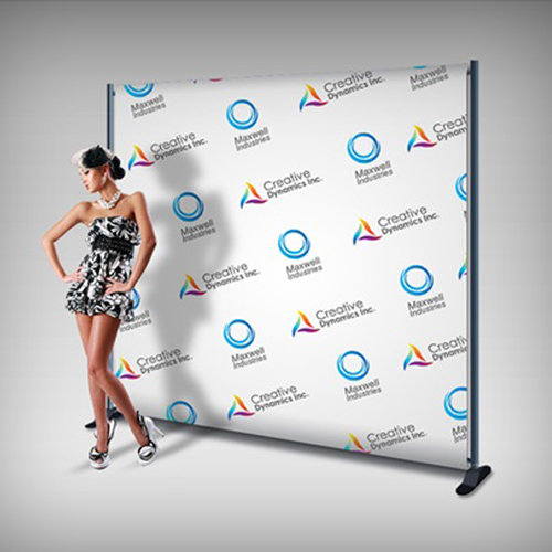 Step-and-Repeat Backdrop