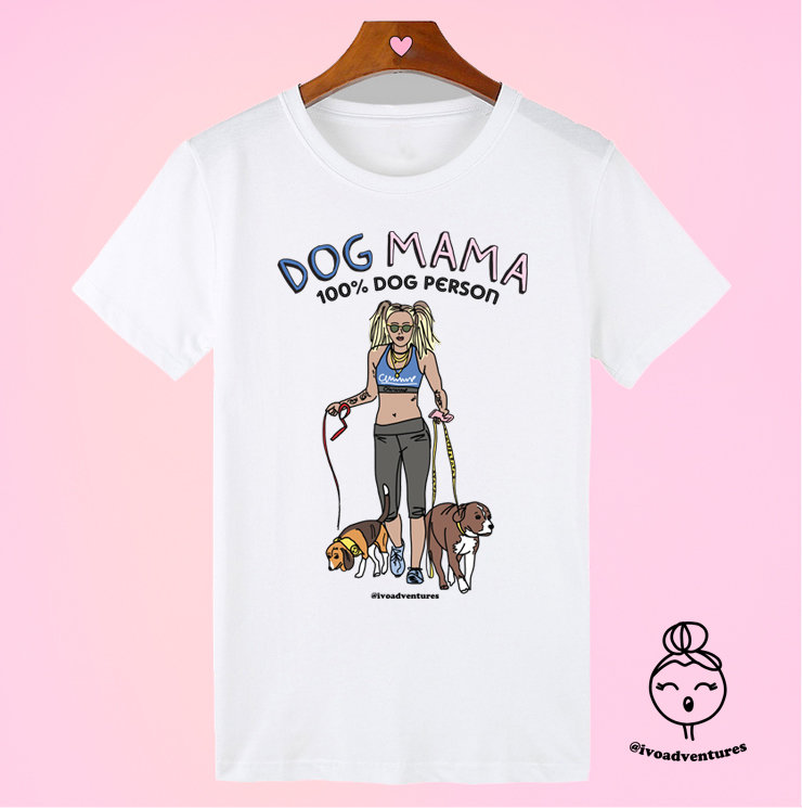 Miley - Dog Mama - T-shirt