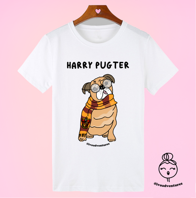 Harry Pugter - Tshirt by Ivo