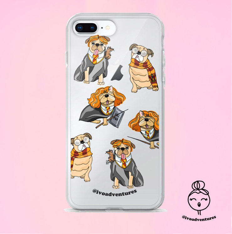 Harry Pugter Team - IVO - iPhone Case 6PLUS/7/8PLUS