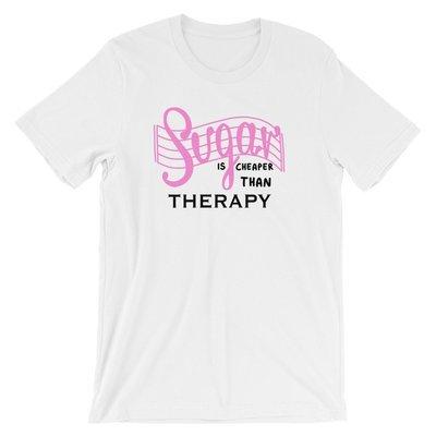 Sugar is cheaper than therapy - Ivo Adventures - Tshirt