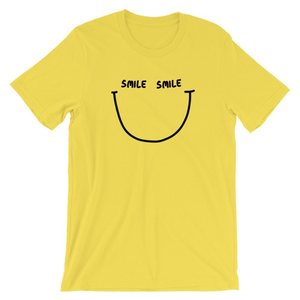 Smile - Yellow Vibe - Ivo Adventures - Tshirt