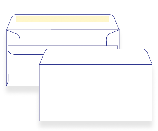 17300 - DLX Plain Face Self Seal