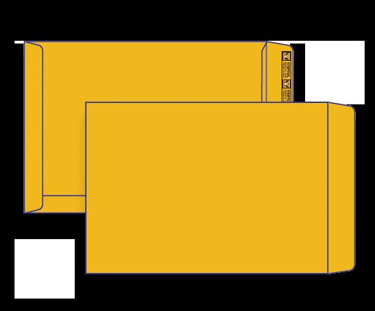 28570 - B4 Gold Craft Plain Face Peel n Seal Pocket 28570 / 461232