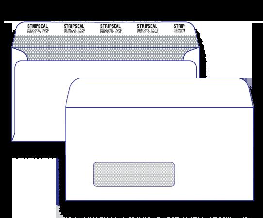 17600 - DLX Window Face Secretive Peel n Seal 17600 / 7169