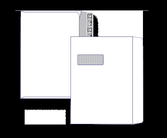 51260 - C4 Barcode Window Face Peel n Seal 51260 / 9360