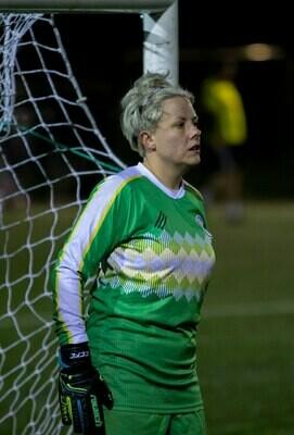 Clapton CFC -Green goalkeeper shirt