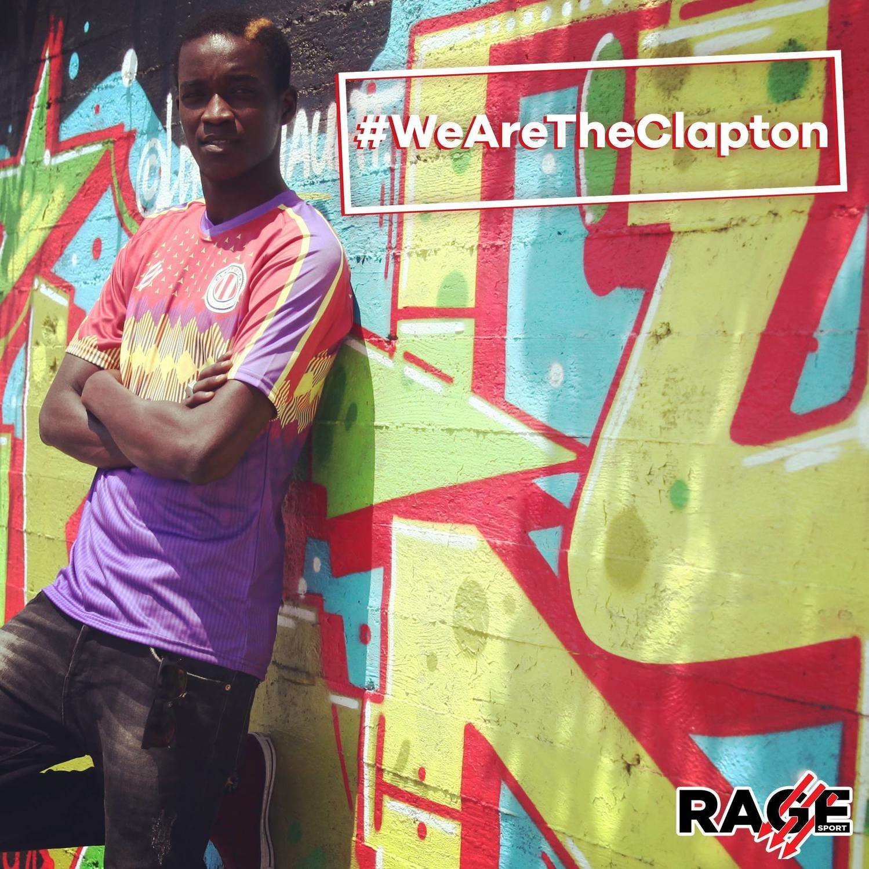 Clapton CFC Away shirt