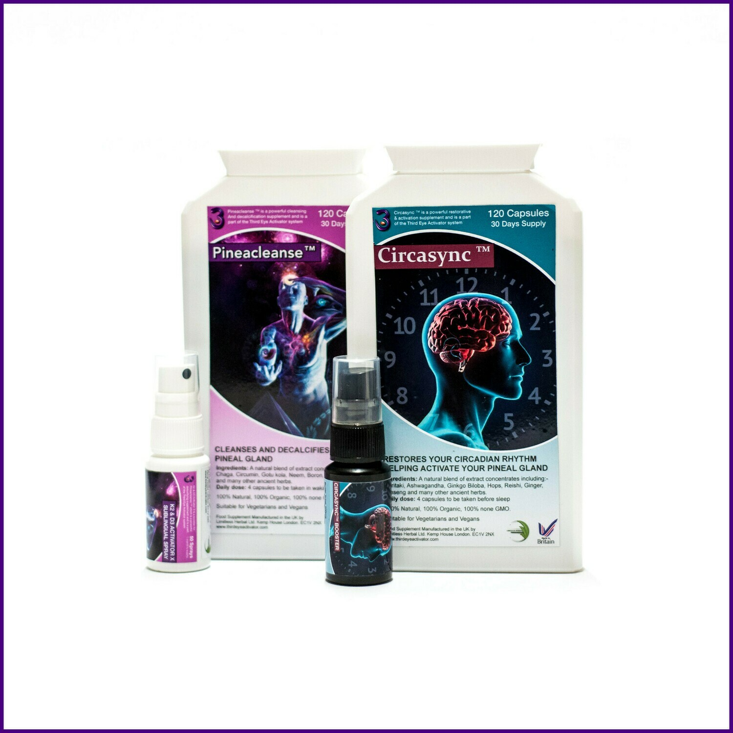Ingredients | Third Eye Activator | Pineal Gland Decalcify