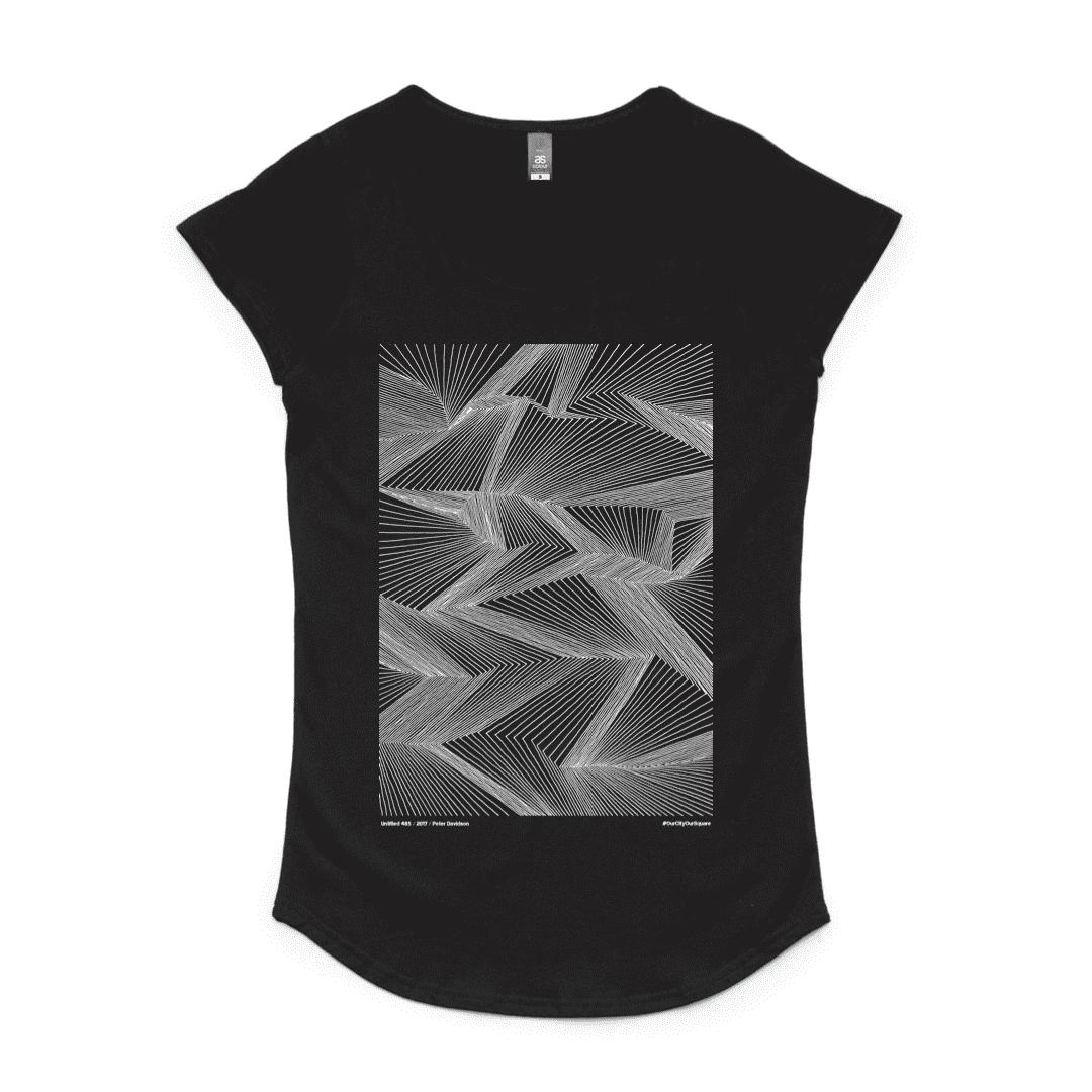 Lines Scoop T-Shirt