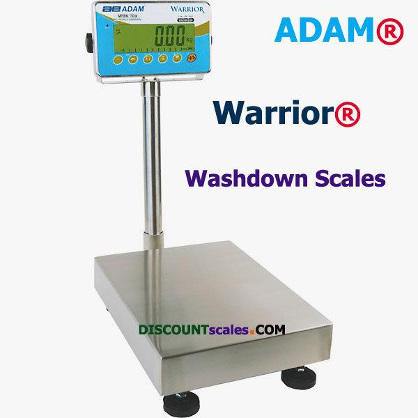 Adam Equipment® WBK 70a Washdown Scale    (70 lb. x 0.005 lb.)