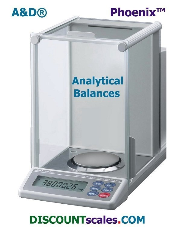 A&D Weighing® Phoenix™ GH-252 Analytical Balance (250g. x 0.1mg. +  101g. x 0.01mg.)