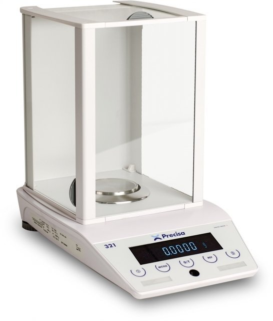 Intelligent Weighing LS-220A SCS Analytical Balance   (220g. x 0.1mg.)