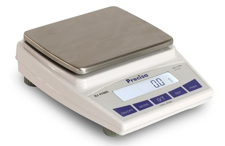 Intelligent Weighing BJ 4100D Balance   (4100g. x 0.1g.)