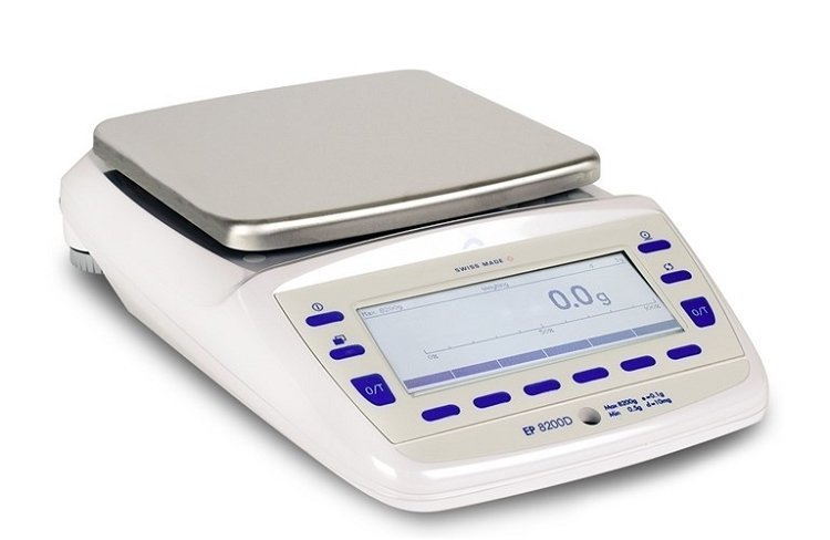 Intelligent Weighing Precisa EP 8200D SCS Balance  (8200g. x 0.1g.)