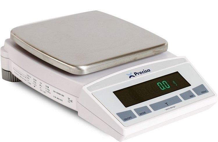 Intelligent Weighing® XB 6200D Balance   (6200g. x 0.1g.)
