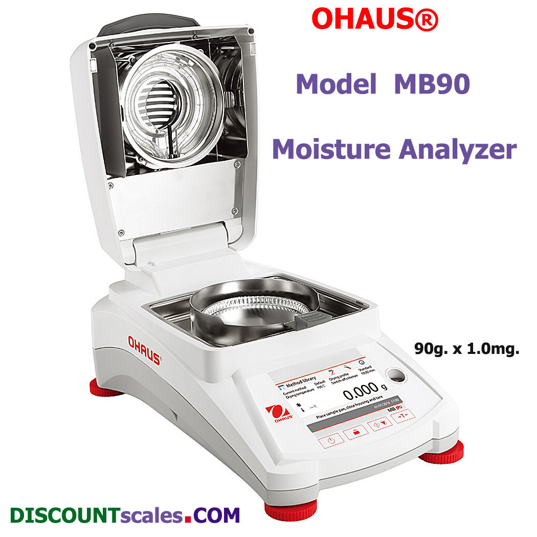 Ohaus MB90 Moisture Analyzer (90g. x 0.001g.)