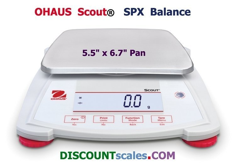 Ohaus Scout SPX621 Balance  (620g. x 0.1g.)