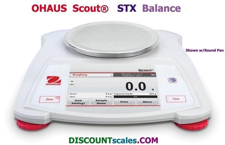 Ohaus Scout STX421 Balance (420g. x 0.1g.)