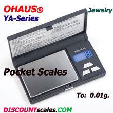 Ohaus® YA501 Pocket Balance  (500g. x 0.1g.)