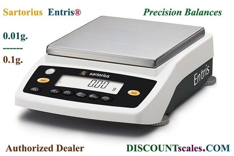 Sartorius® ENTRIS2202-1S Balance (2200g. x 0.01g.)
