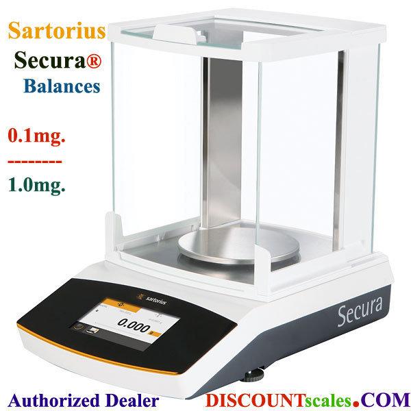 Sartorius® SECURA613-1S Milligram Balance (610g. x 1.0mg.)
