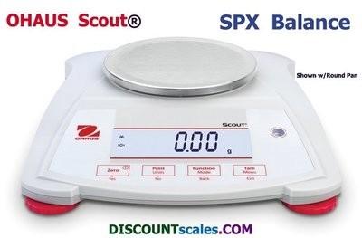 Ohaus® Scout™ SPX222 Balance  (220g. x 0.01g.)