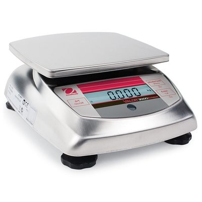 Ohaus® V31XW3 Valor™ 3000 Food Scale  (3000g. x 0.5g.)