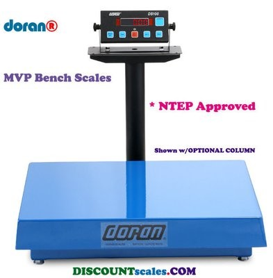 Doran® MVP4250-20 Bench Scale  (250 lb. x 0.05 lb.)