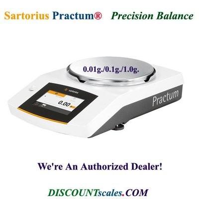 Sartorius® PRACTUM2101-1S Balance (2100g. x 0.1g.)
