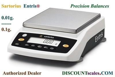 Sartorius® ENTRIS8201-1S Balance (8200g. x 0.1g.)